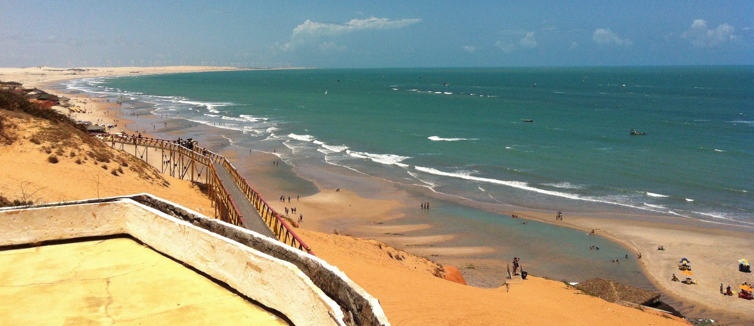 Canoa Quebrada_casa malou mar